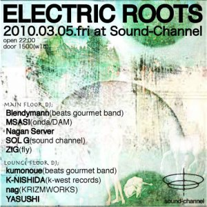 ELECTRIC ROOTS フライヤー画像