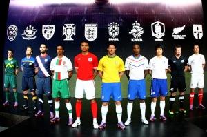2010年度ナイキのサッカー新ユニフォーム
