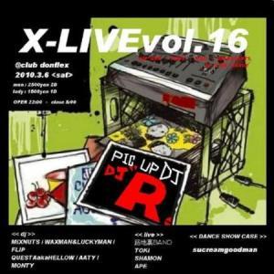 x live vol.16