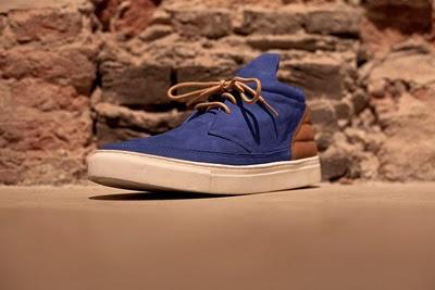 Desert Boots Blue Suede