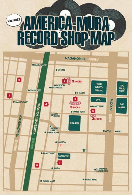 osaka-america-mura-record_map_2013-front