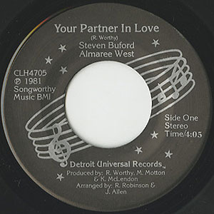 Steven Buford Almaree West Your Partner In Love