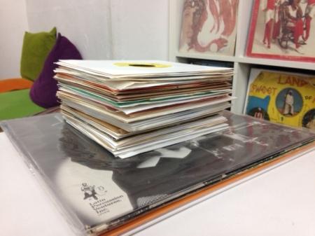 買取レコード 7inch/LP