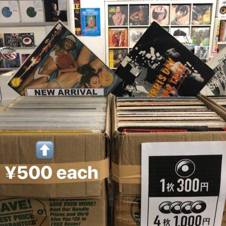 record-sale-500yen-lp-300yen-12inch